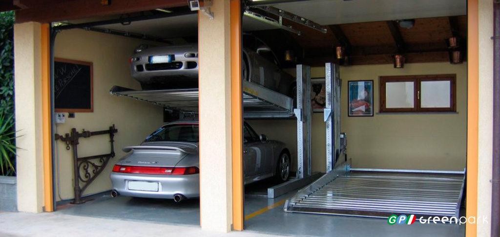Elevatore Per Auto Lift Box P Green Park Srl Sistemi Di