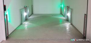 Ascensore per auto e parcheggio meccanizzato Lift P1 Green Park con pianale acciaio zincato