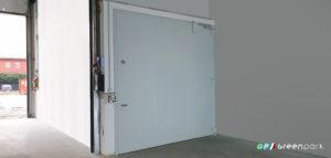 Porta tagliafuoco Green Park per le chiusure ai piani di ascensori per auto
