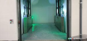 Ascensore per auto montato LIFT C2 SCB Green Park