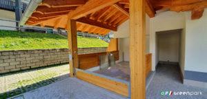 Ascensore per auto Green Park Lift P1 SCB SP a Courmayeur Valle d'Aosta