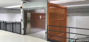 montacarichi per merci green park azienda montauto ascensore per auto milano brescia torino