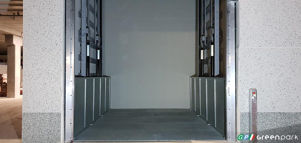 montacarichi green park azienda merci montauto ascensore per auto mantova verona brescia