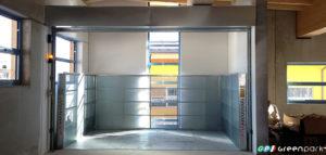 montacarichi green park azienda merci montauto ascensore per auto mantova brescia