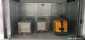 montacarichi per merci green park azienda montauto ascensore per auto mantova brescia