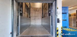 montacarichi per merci green park lift work c2 10 ton green park sollevatore ascensore industriale padova verona venezia treviso belluno veneto carpenedolo brescia