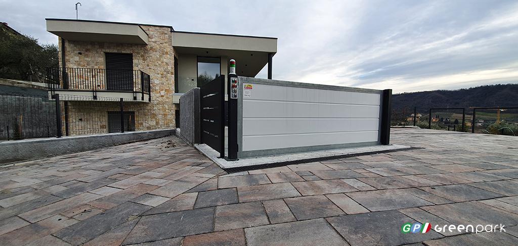 ascensore auto montauto lift car c2 green park archiettura cortile garage casa parcheggio scomparsa meccanizzato elevatore montacarichi