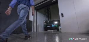 ascensore auto montauto lift car c2 green park concessionaria citroen gozzini parcheggio scomparsa meccanizzato elevatore montacarichi brescia