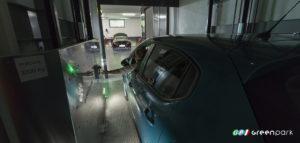 ascensore auto montauto lift car c2 green park concessionaria citroen parcheggio scomparsa meccanizzato elevatore montacarich